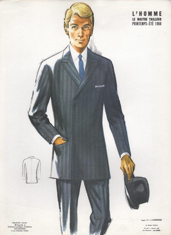 1960s fashion men suits