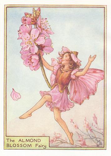 Antique Flower Fairy Prints