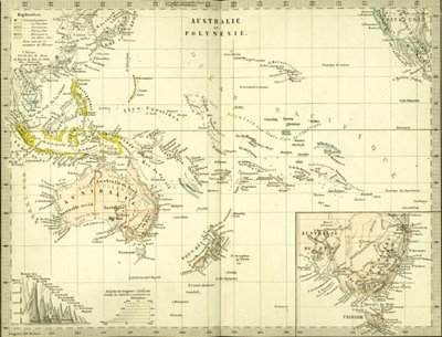 Antique Maps of Australia New Zealand and the Pacific