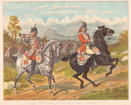 17th Light Dragoons Antique Military