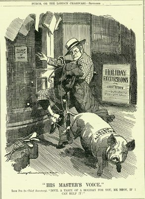 Irish Politics  Cartoons and Satire           Vintage Cartoon from Punch of Irish Politics