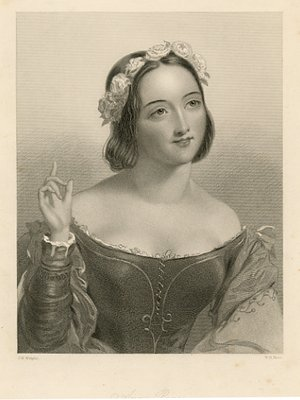 Antique Print of Anne Page from Shakespeare's The Merry ...