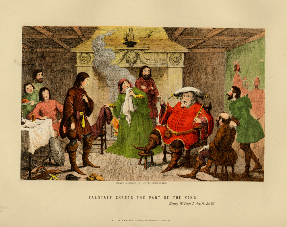 falstaffs role in henry iv by shakespeare